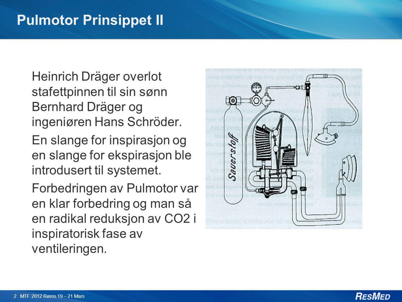 Pulmotor Prinsippet II
