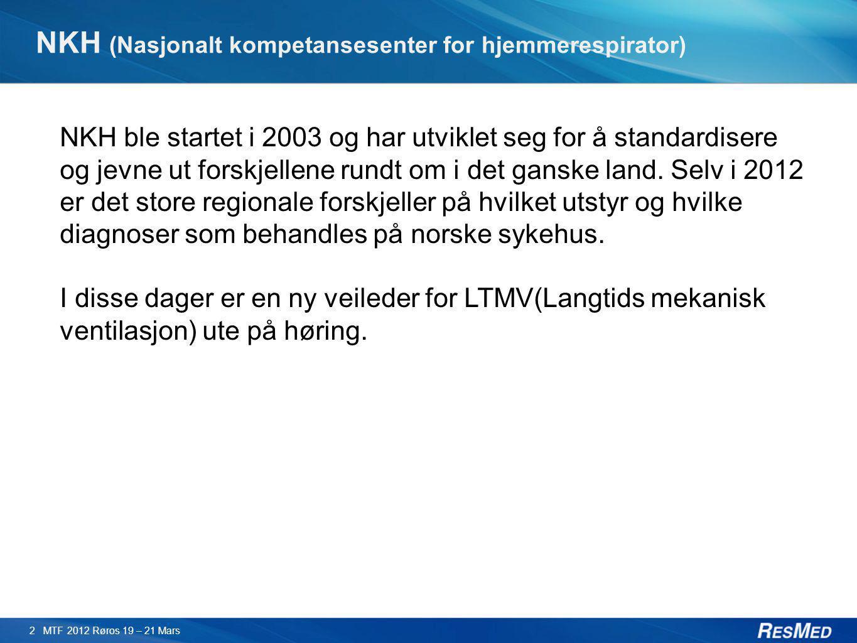 NKH (Nasjonalt kompetansesenter for hjemmerespirator)