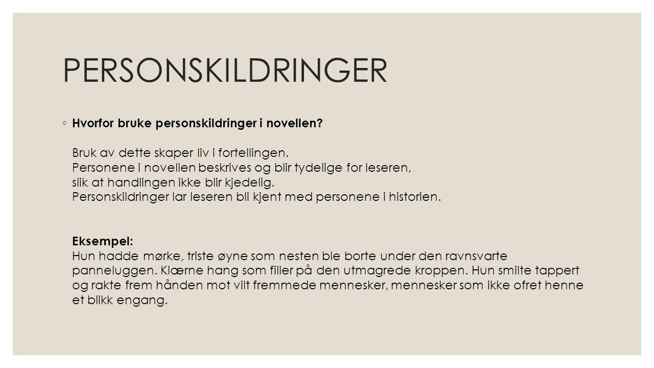 PERSONSKILDRINGER