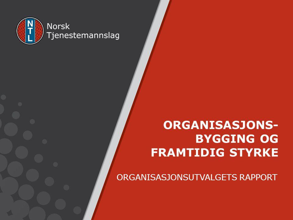 ORGANISASJONSUTVALGETS RAPPORT