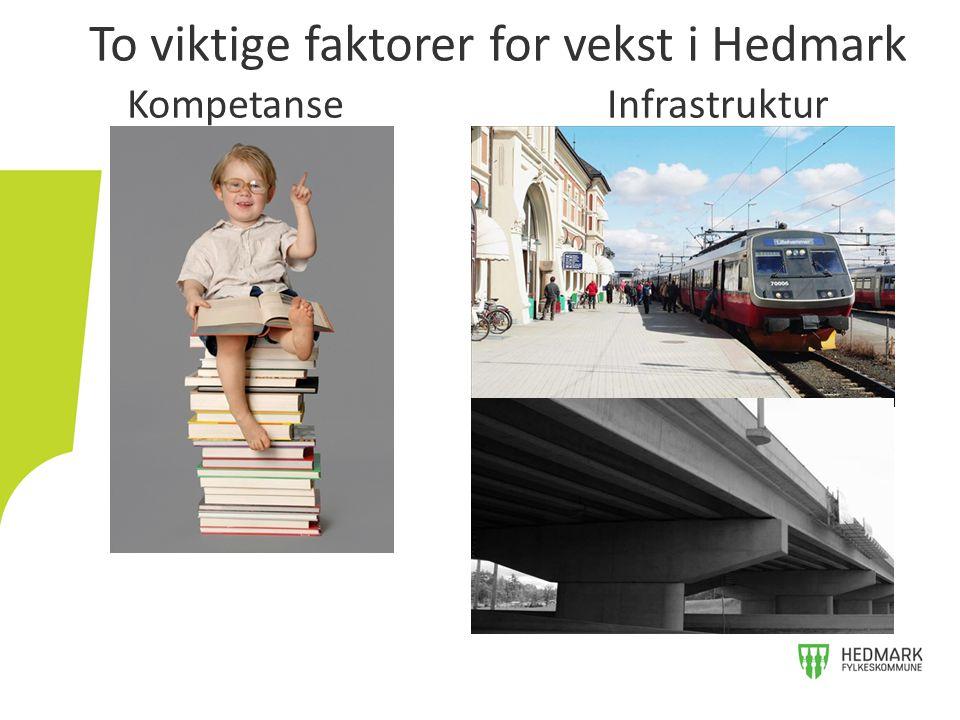 To viktige faktorer for vekst i Hedmark