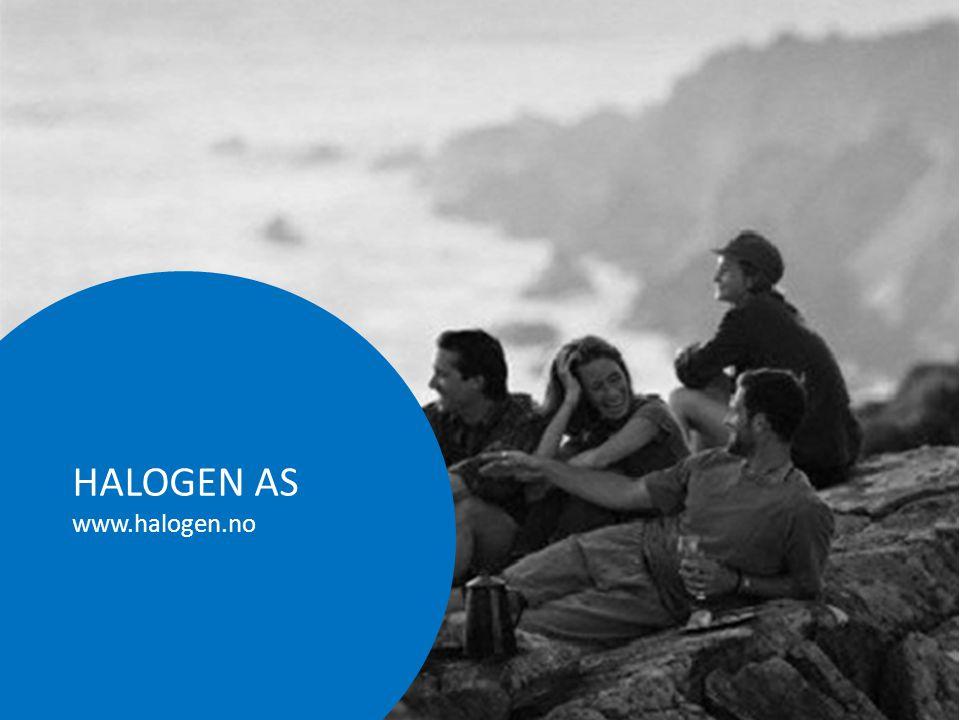 HALOGEN AS www.halogen.no