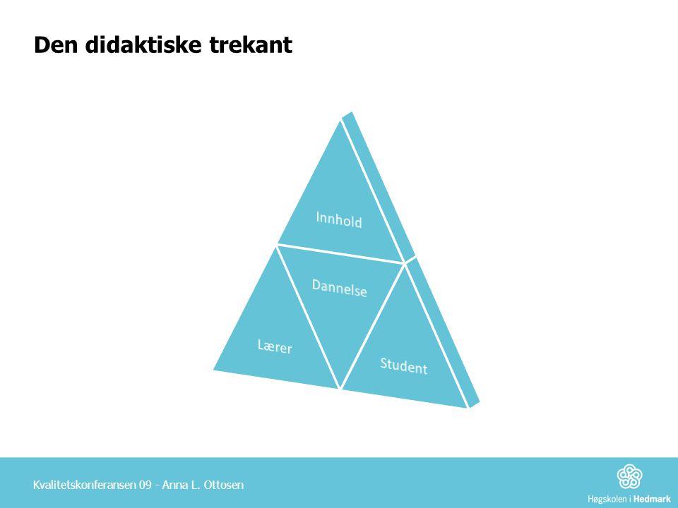 Den didaktiske trekant