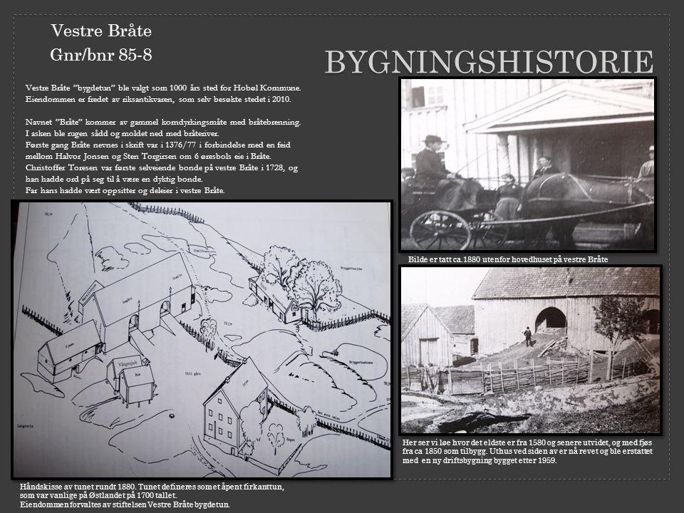 bygningshistorie Vestre Bråte Gnr/bnr 85-8