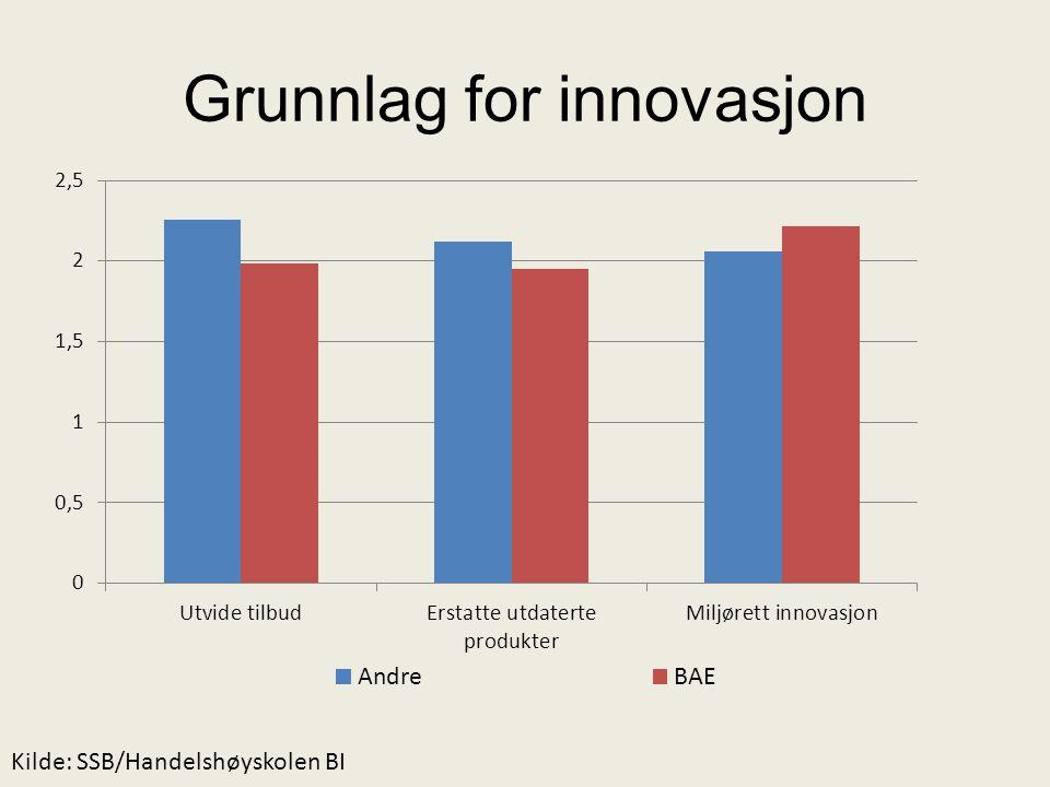 Grunnlag for innovasjon