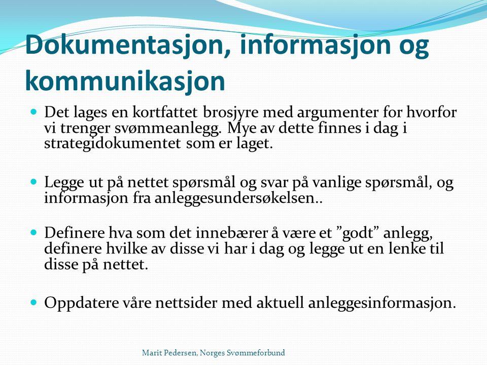 Dokumentasjon, informasjon og kommunikasjon