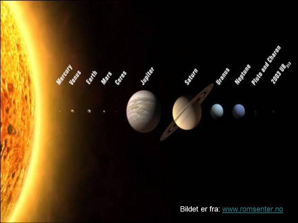 sola sola er en stjerne  fordi den er mye n u00e6rmere jorda