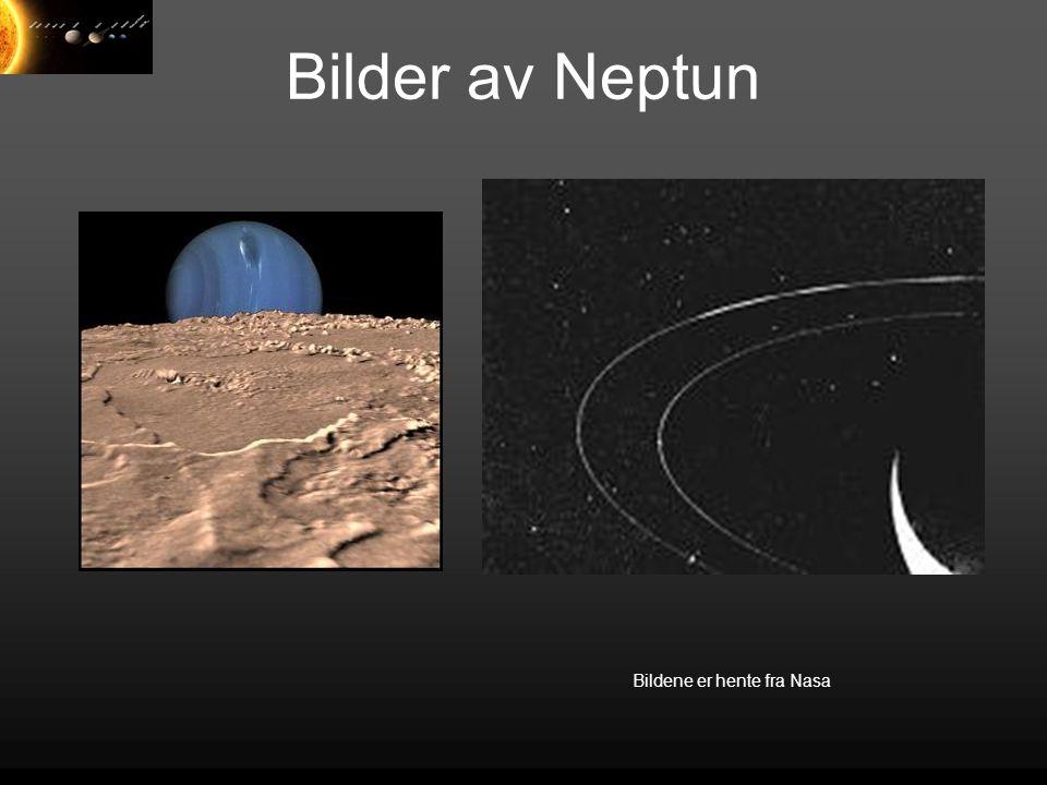 Bilder av Neptun Bildene er hente fra Nasa