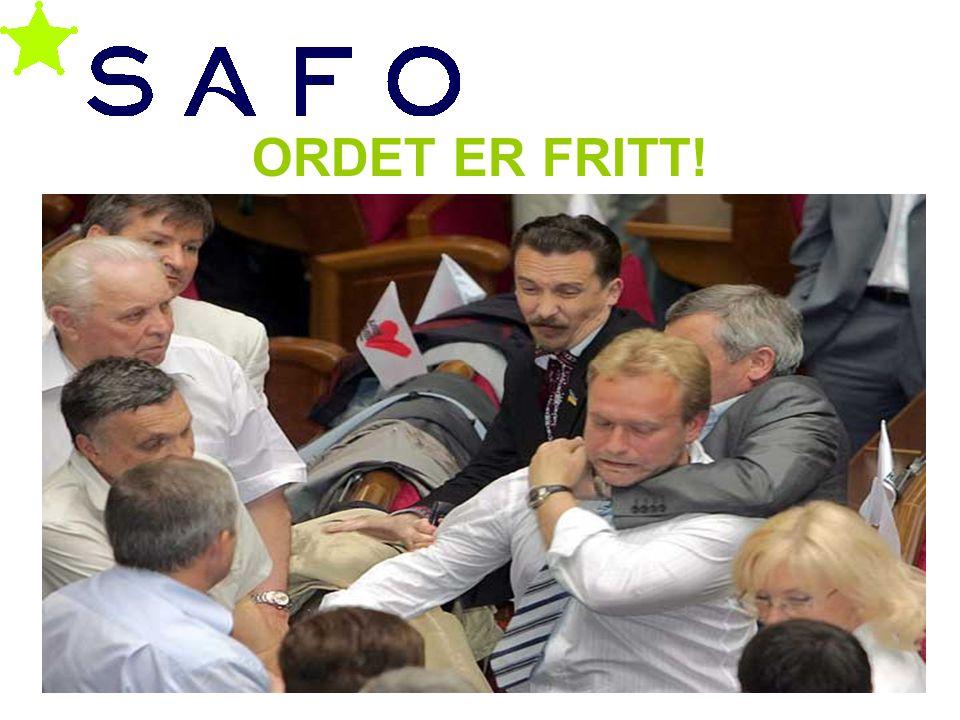 ORDET ER FRITT! Geir Smeby