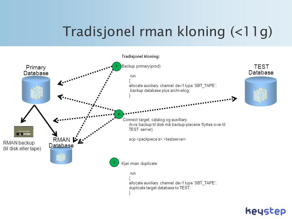 Tradisjonel rman kloning (<11g)