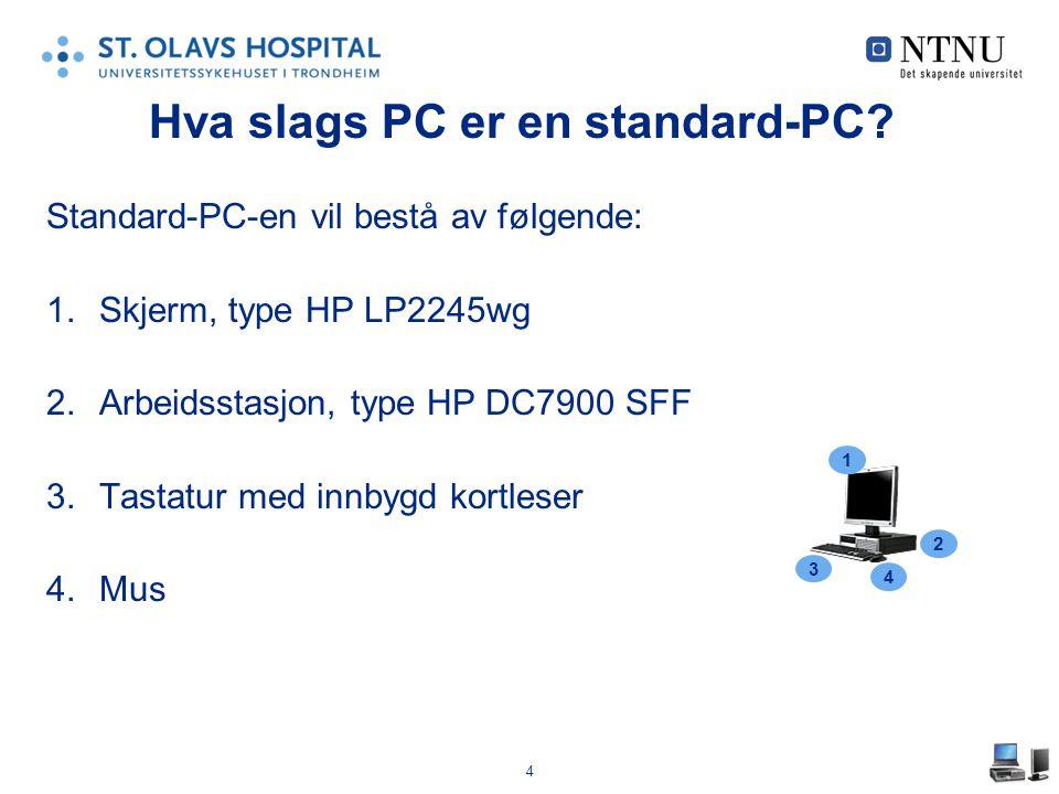 Hva slags PC er en standard-PC