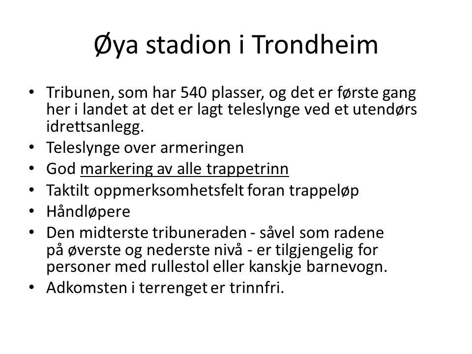 Øya stadion i Trondheim