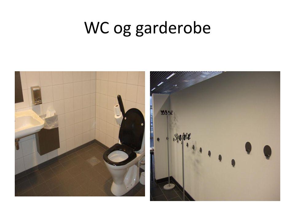WC og garderobe