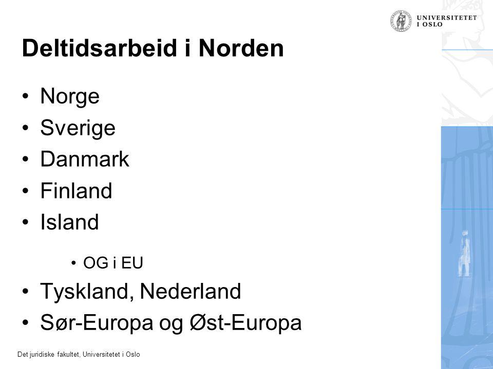 Deltidsarbeid i Norden