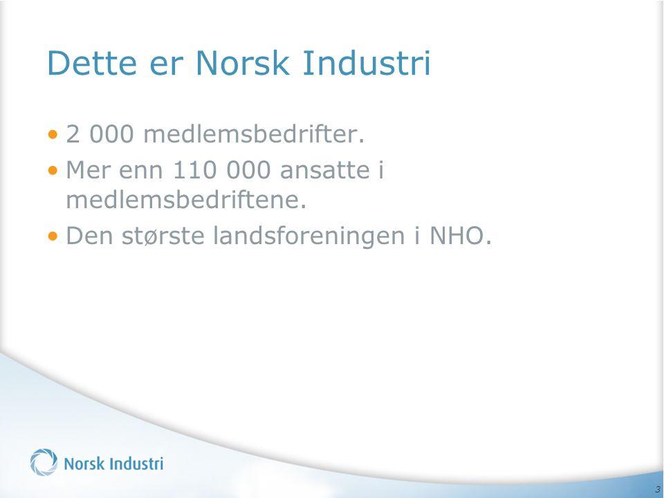 Dette er Norsk Industri