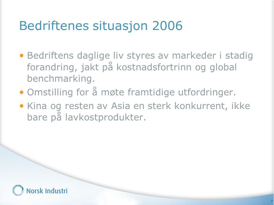 Bedriftenes situasjon 2006