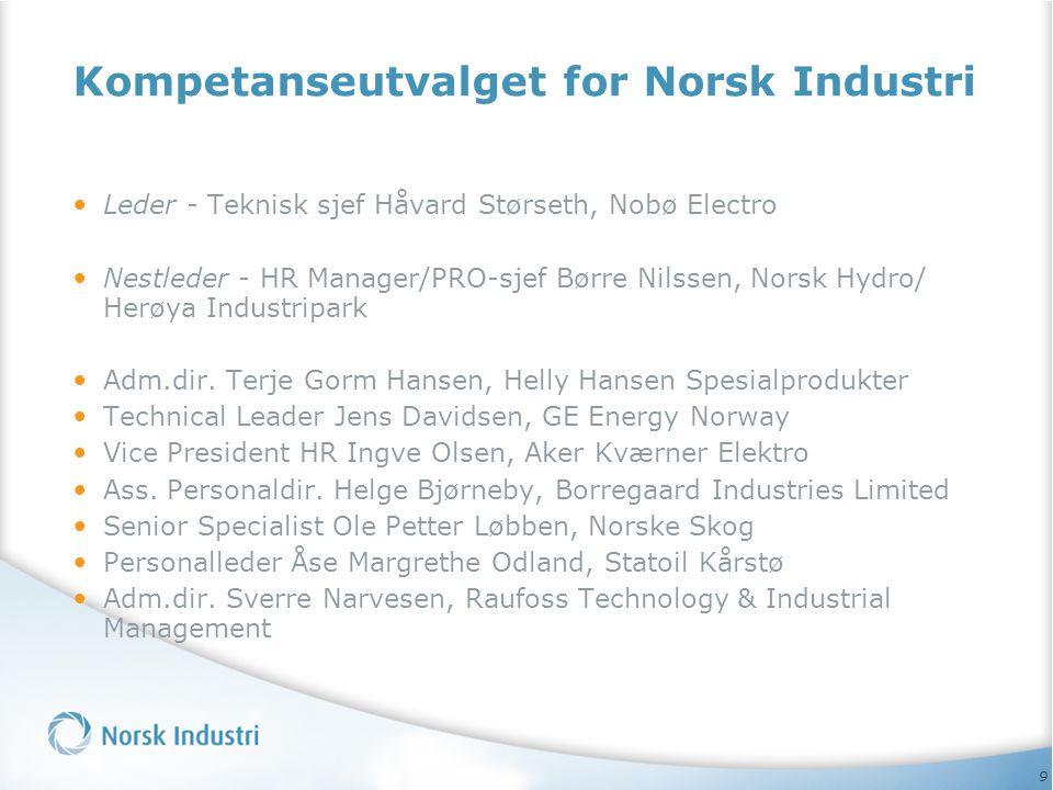 Kompetanseutvalget for Norsk Industri