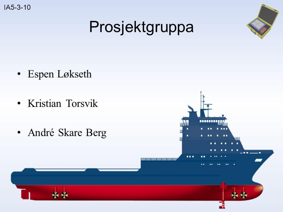 Prosjektgruppa Espen Løkseth Kristian Torsvik André Skare Berg 3D
