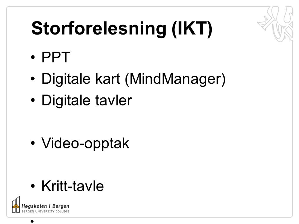 Storforelesning (IKT)