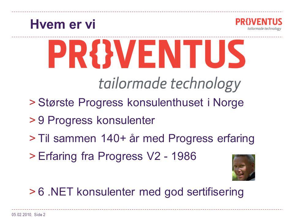 Hvem er vi Største Progress konsulenthuset i Norge