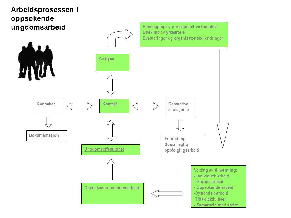Arbeidsprosessen i oppsøkende ungdomsarbeid
