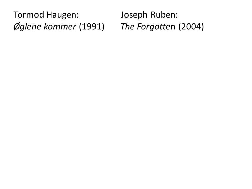 Tormod Haugen: Joseph Ruben: