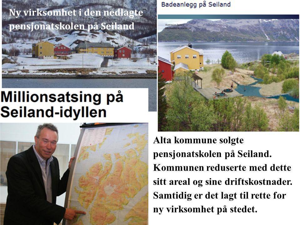 Ny virksomhet i den nedlagte pensjonatskolen på Seiland