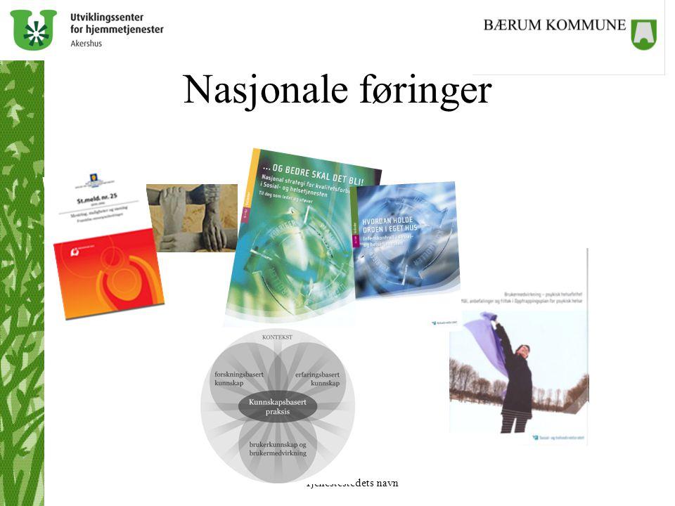 Nasjonale føringer