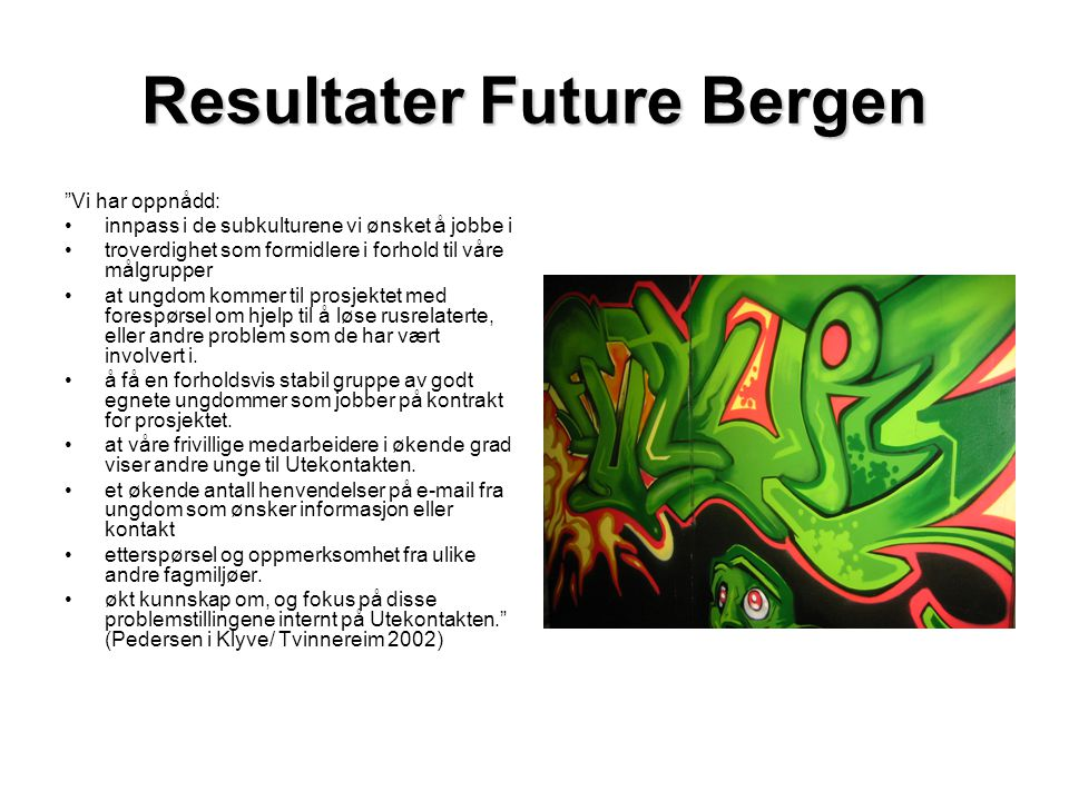 Resultater Future Bergen