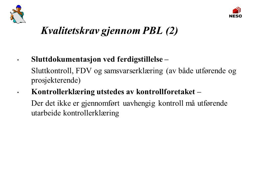Kvalitetskrav gjennom PBL (2)