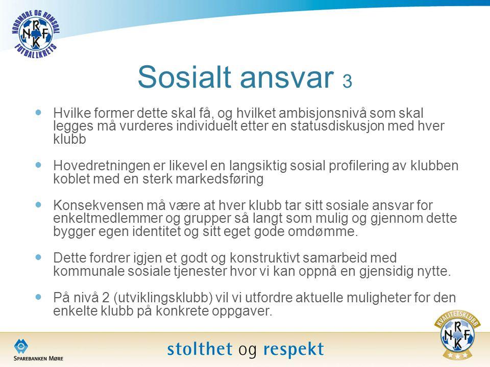 Sosialt ansvar 3