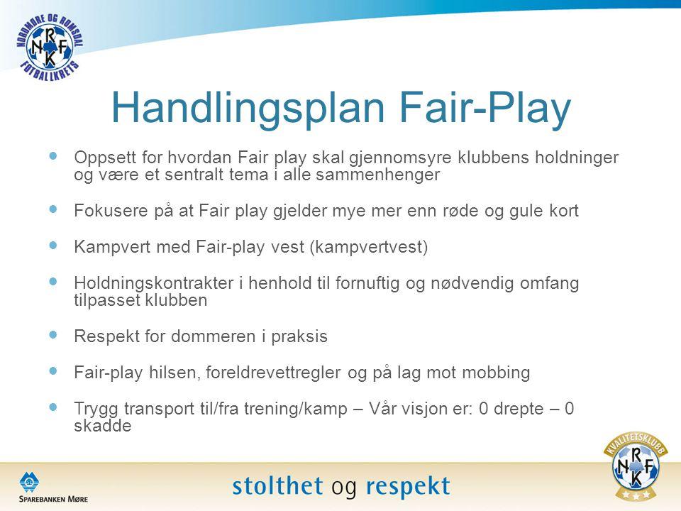 Handlingsplan Fair-Play