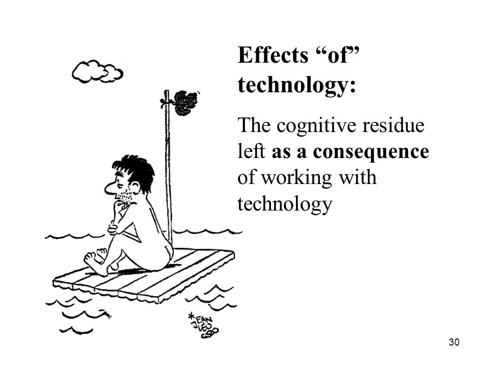 Effects of technology: