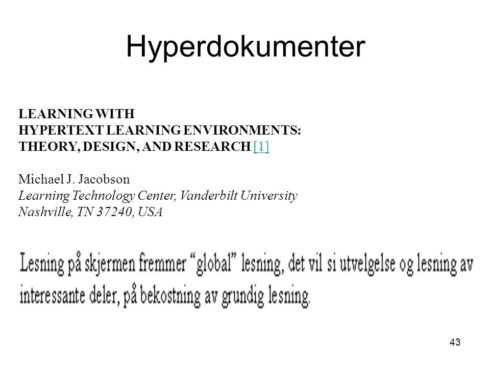 Hyperdokumenter