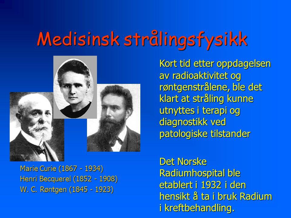 Medisinsk strålingsfysikk