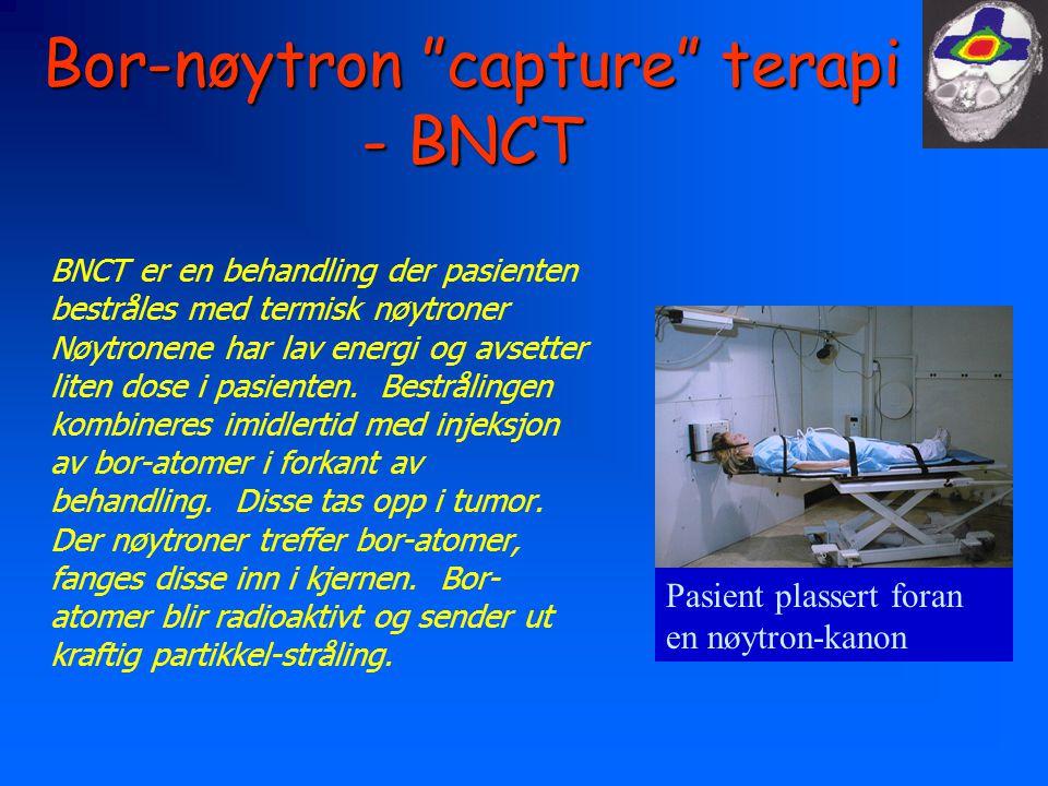 Bor-nøytron capture terapi - BNCT