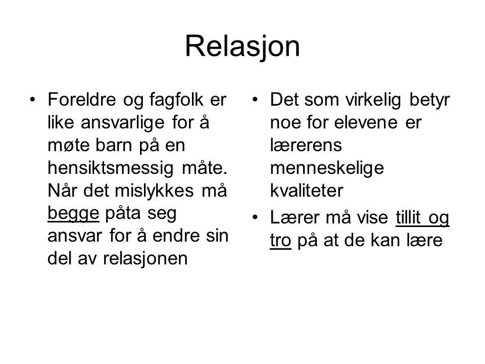 Relasjon