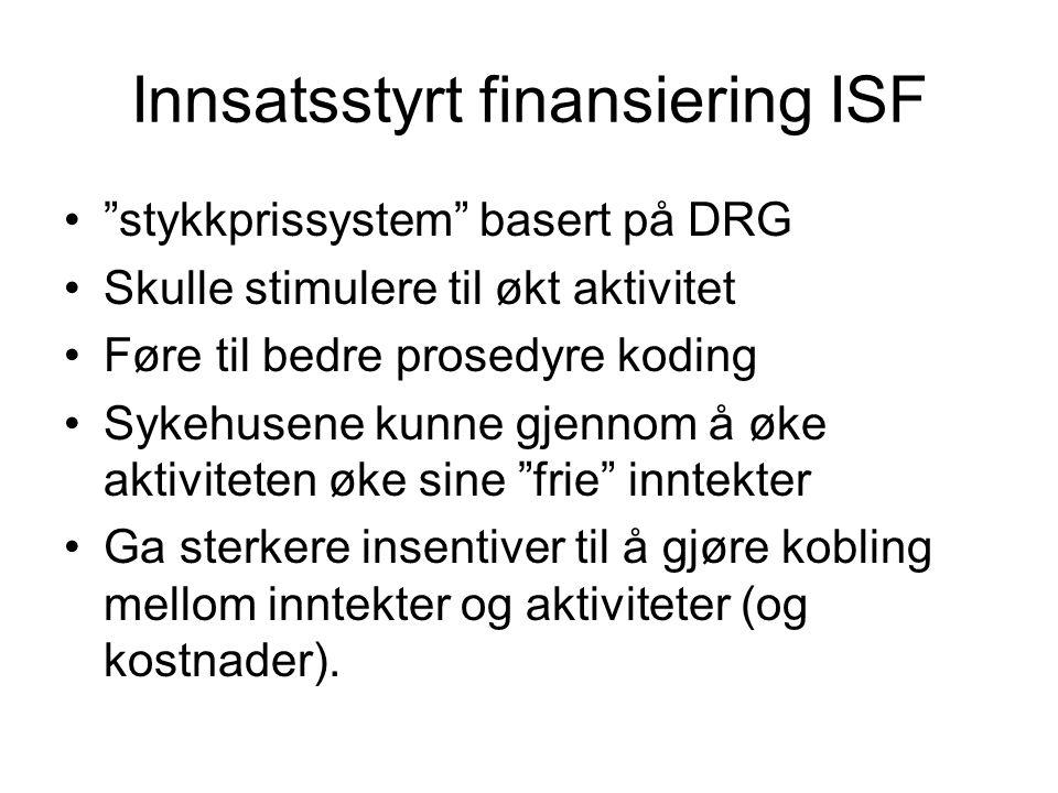 Innsatsstyrt finansiering ISF