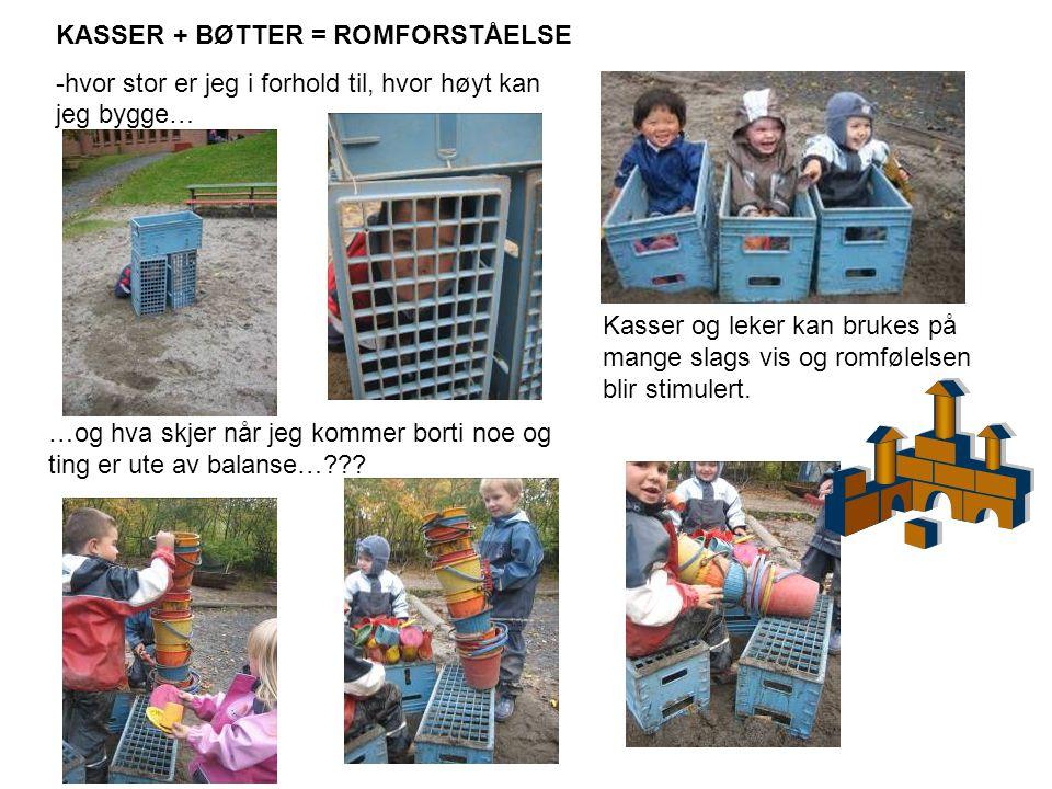 KASSER + BØTTER = ROMFORSTÅELSE