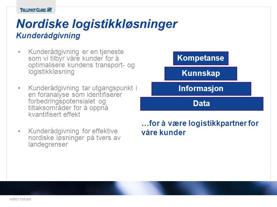 Nordiske logistikkløsninger Kunderådgivning