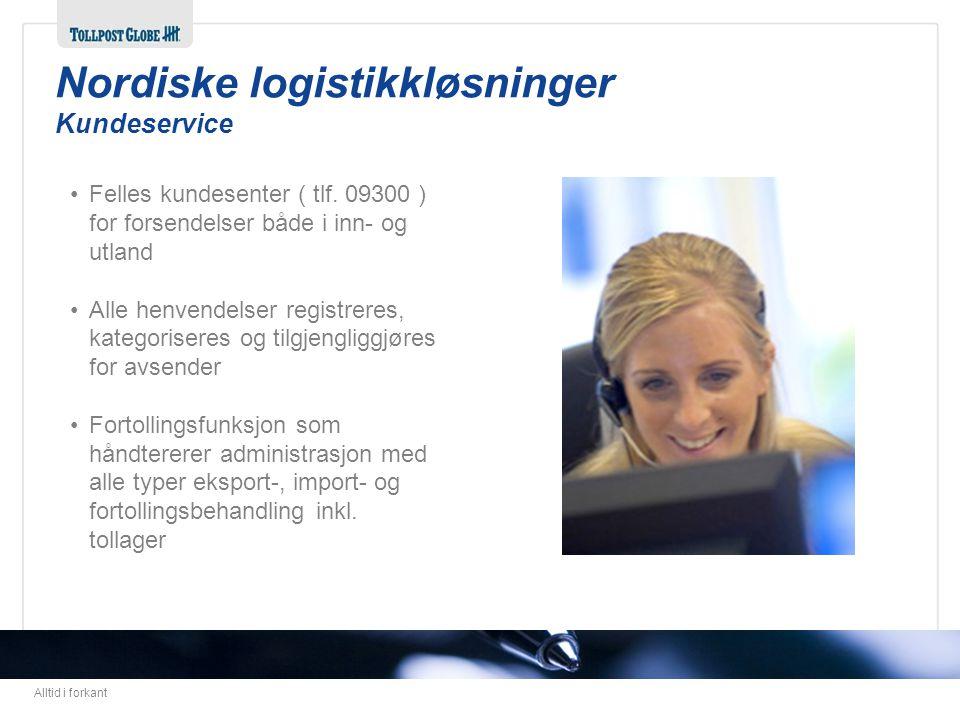 Nordiske logistikkløsninger Kundeservice