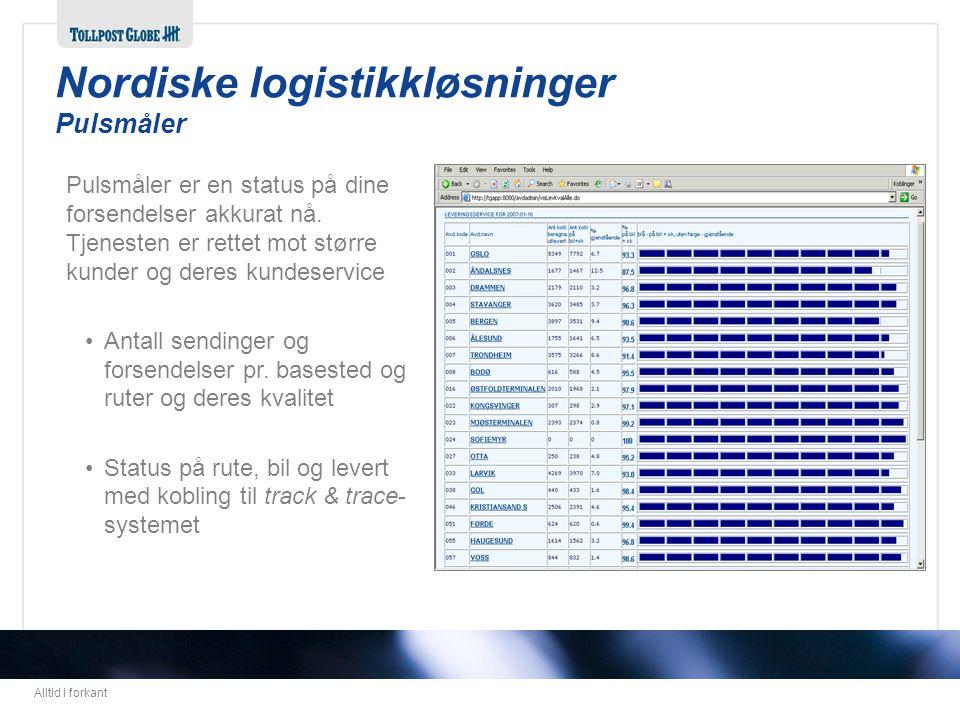 Nordiske logistikkløsninger Pulsmåler