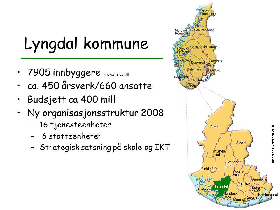 Lyngdal kommune 7905 innbyggere vi vokser stadig!!!