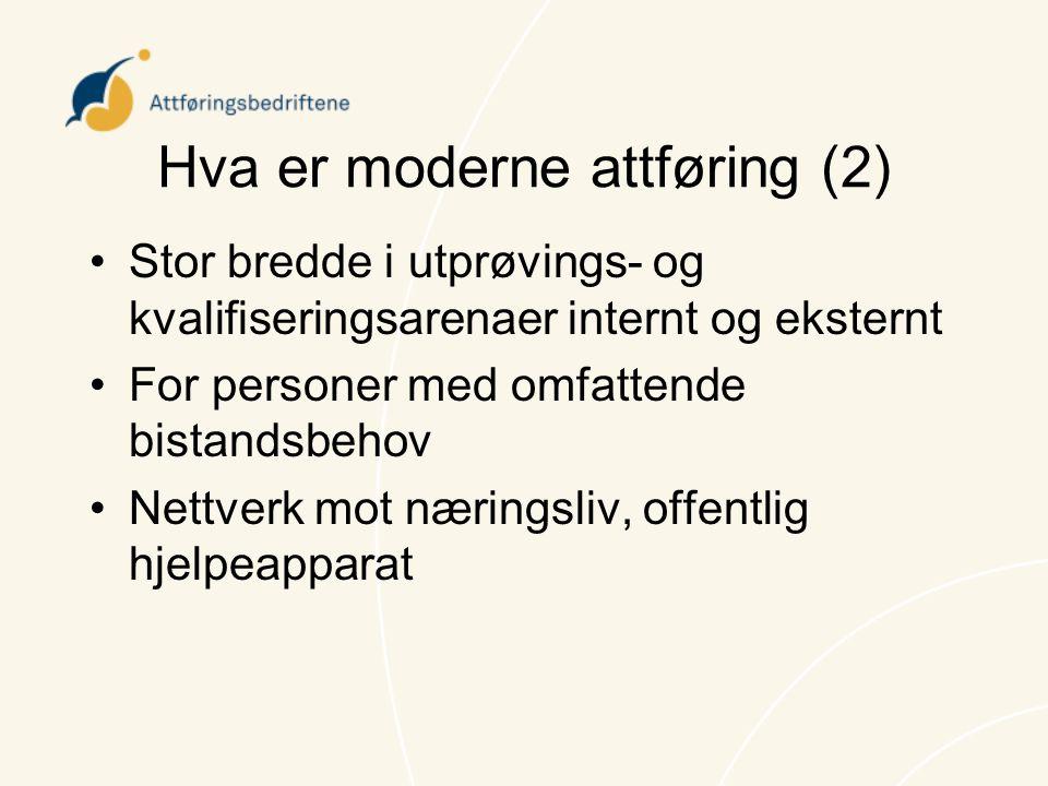 Hva er moderne attføring (2)