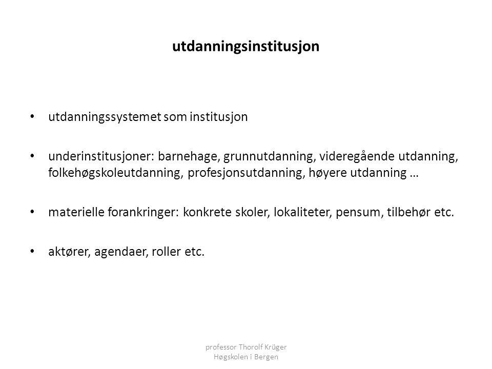 utdanningsinstitusjon