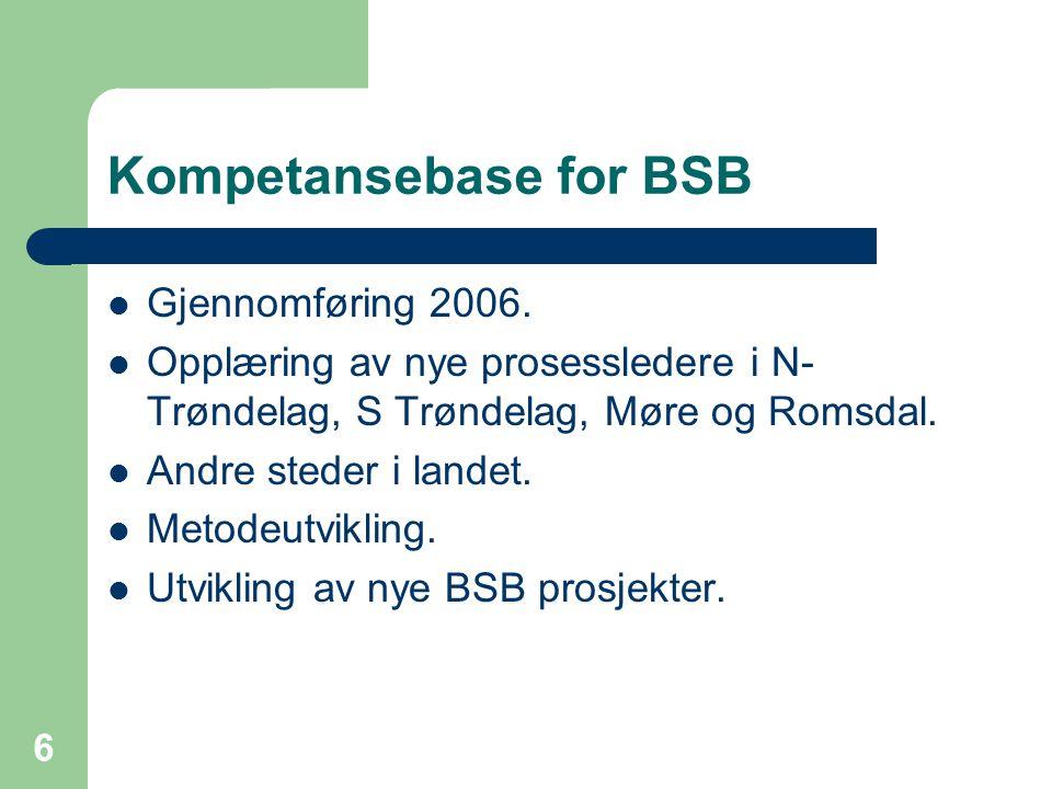 Kompetansebase for BSB
