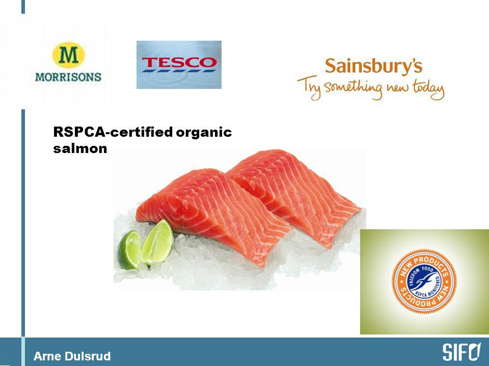 RSPCA-certified organic salmon