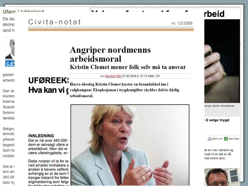 Bilder av debatten Uføre i lykkeland: http://www.bi.no/Om-BI-20/Nyheter-fra-BI-20/Nyheter-2009/Ufore-i-lykkeland/