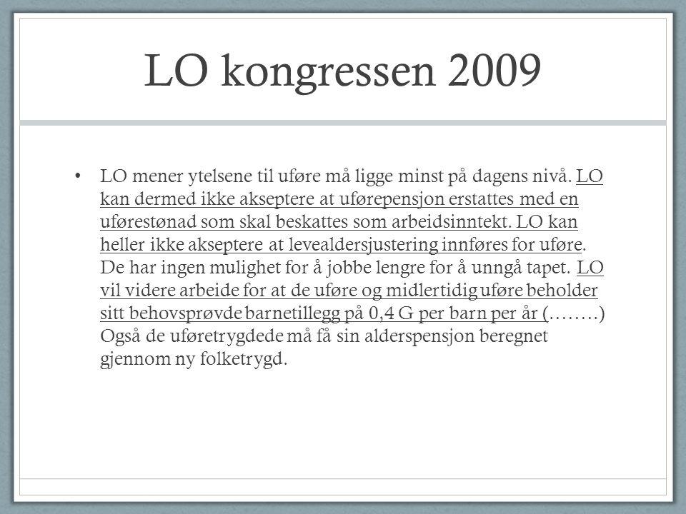 LO kongressen 2009