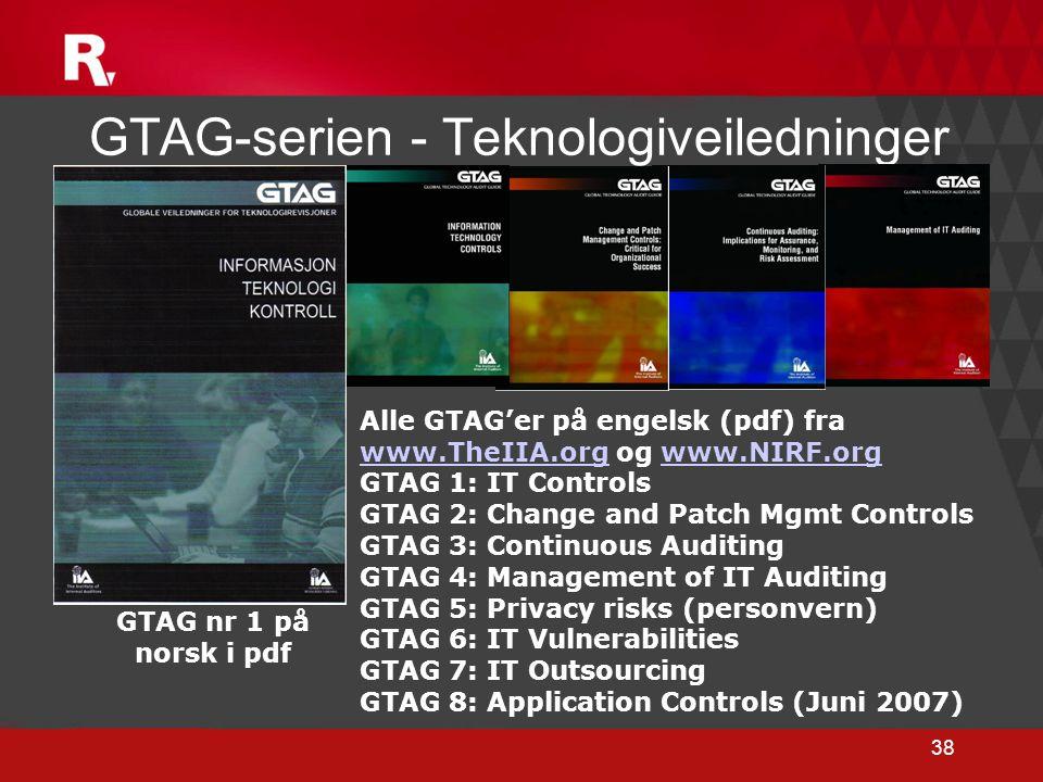 GTAG-serien - Teknologiveiledninger